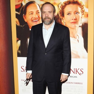 Paul Giamatti in Saving Mr. Banks Los Angeles Premiere