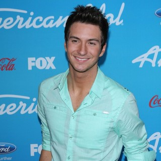 Paul Jolley in FOX's American Idol Finalists Party