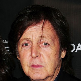 Paul McCartney in Comes a Bright Day Premiere