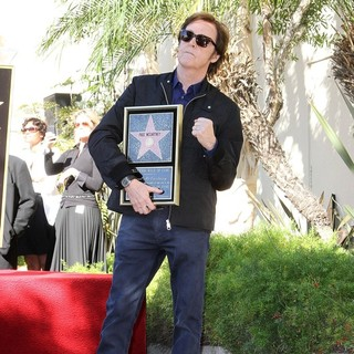 Paul McCartney in Paul McCartney Honored with A Star on The Hollywood Walk of Fame