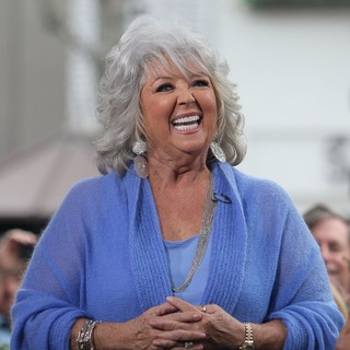 Paula Deen in Paula Deen at The Grove to Film An Appearance for The Entertainment Television News Programme Extra