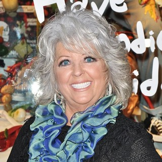 Paula Deen in Barney's New York Unveil Their Have a Foodie Holiday Themed Windows