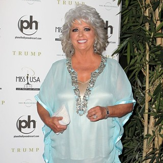 Paula Deen in The Miss USA 2010 Pageant