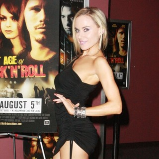 Paula LaBaredas in The Perfect Age of Rock 'n' Roll Los Angeles Premiere
