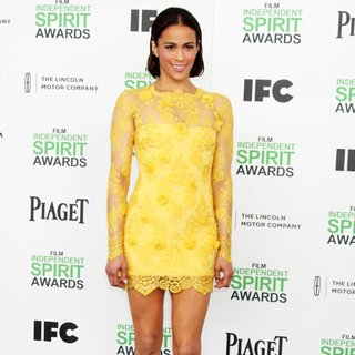 Paula Patton in The 2014 Film Independent Spirit Awards - Arrivals