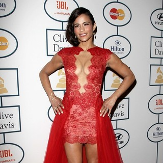 Paula Patton in 2014 Pre-Grammy Gala and Grammy Salute to Industry Icons - Clive Davis