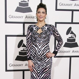 Paula Patton in The 56th Annual GRAMMY Awards - Arrivals