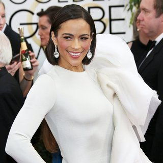 Paula Patton in 71st Annual Golden Globe Awards - Arrivals
