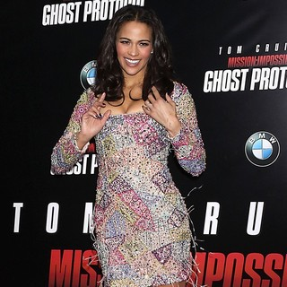 Paula Patton in New York Premiere of Mission: Impossible Ghost Protocol