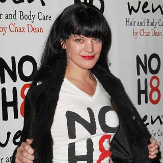 Pauley Perrette in NOH8 Celebrity Studded 4th Anniversary Party - Arrivals