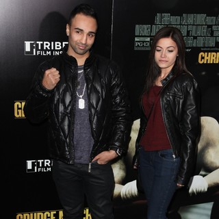 Paulie Malignaggi in Grudge Match New York Screening - Red Carpet Arrivals