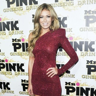 Paulina Gretzky in Mr. Pink's Ginseng Energy Drink Launch - Arrivals