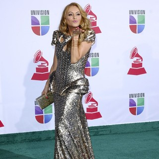 Paulina Rubio in The 12th Annual Latin GRAMMY Awards - Arrivals