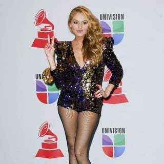Paulina Rubio in The 12th Annual Latin GRAMMY Awards - Press Room
