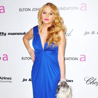 Paulina Rubio in 19th Annual Elton John AIDS Foundation Academy Awards Viewing Party - Arrivals