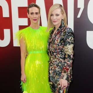 Sarah Paulson, Cate Blanchett in Ocean's 8 World Premiere - Red Carpet Arrivals