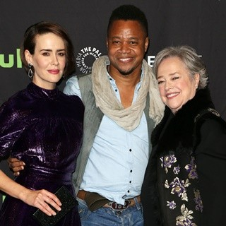 Sarah Paulson, Cuba Gooding Jr., Kathy Bates-The Paley Center for Media's 34th Annual PaleyFest Los Angeles - American Horror Story: Roanoke