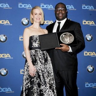 Sarah Paulson, Steve McQueen in The 66th Annual DGA Awards - Press Room