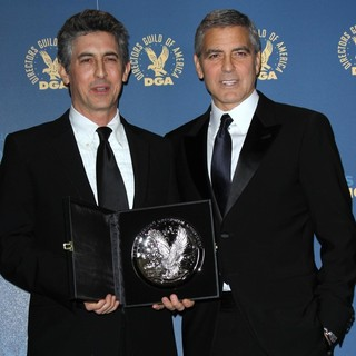 Alexander Payne, George Clooney in 64th Annual Directors Guild of America Awards - Press Room