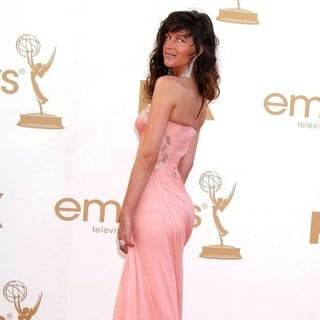 Paz de la Huerta in The 63rd Primetime Emmy Awards - Arrivals