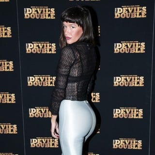Paz de la Huerta in The New York Premiere of The Devil's Double