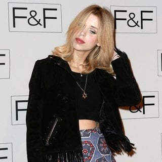 Peaches Geldof in F and F - A-W 2014 Fashion Show - Arrivals
