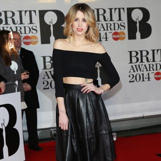 Peaches Geldof in The Brit Awards 2014 - Arrivals