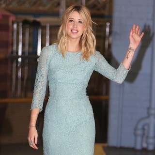 Peaches Geldof in Peaches Geldof Outside The ITV Studios
