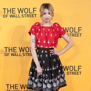 Peaches Geldof in The Wolf of Wall Street U.K. Premiere