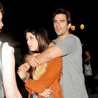 Peaches Geldof, Eli Roth in The 2010 Coachella Valley Music and Arts Festival - Day 1