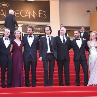 Guy Pearce, Dane DeHaan, Mia Wasikowska, Jason Clarke, Nick Cave, John Hillcoat, Tom Hardy, Jessica Chastain, Shia LaBeouf in Lawless Premiere - During The 65th Annual Cannes Film Festival
