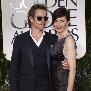 Guy Pearce, Kate Mestitz in The 69th Annual Golden Globe Awards - Arrivals