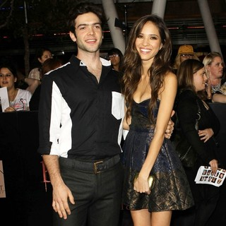 Ethan Peck, Kelsey Chow in The Twilight Saga's Breaking Dawn Part I World Premiere