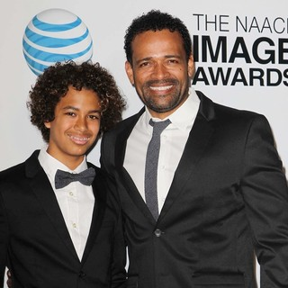 Mandela Van Peebles, Mario Van Peebles in The 44th NAACP Image Awards