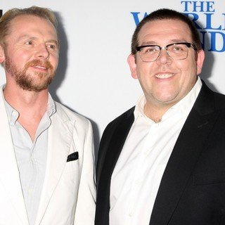 Simon Pegg, Nick Frost in The World's End Hollywood Premiere