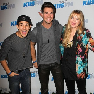 Carlos Pena Jr., James Maslow, Dakota Johnson in KIIS FM's Jingle Ball 2012 - Arrivals