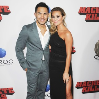 Carlos Pena Jr., Alexa Vega in Premiere of Open Road Films' Machete Kills