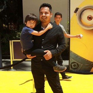 Roman Pena, Michael Pena in Premiere of Universal Pictures' Despicable Me 2