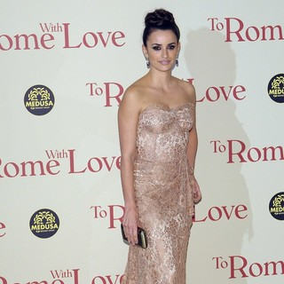 Penelope Cruz in The Italian Premiere of To Rome with Love