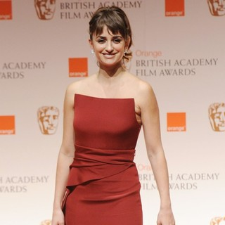 Penelope Cruz in Orange British Academy Film Awards 2012 - Press Room