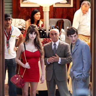 Penelope Cruz in On The Set of New Film The Bop Decameron