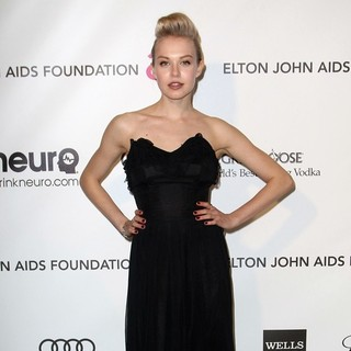 Penelope Mitchell in 21st Annual Elton John AIDS Foundation's Oscar Viewing Party