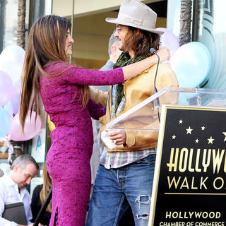 Penelope Cruz, Johnny Depp in Penelope Cruz Receives A Star on The Hollywood Walk of Fame