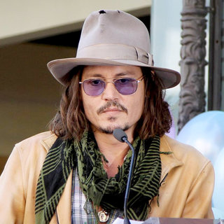 Johnny Depp in Penelope Cruz Receives A Star on The Hollywood Walk of Fame