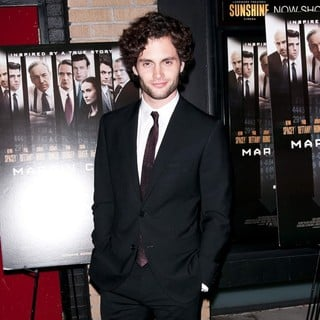 Penn Badgley in Premiere of Margin Call - Outside Arrivals
