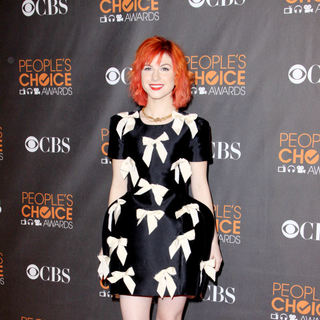 Hayley Williams in People's Choice Awards 2010