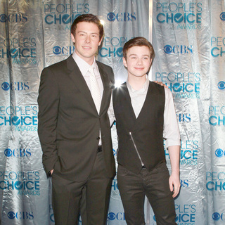 Cory Monteith, Chris Colfer in 2011 People's Choice Awards - Arrivals