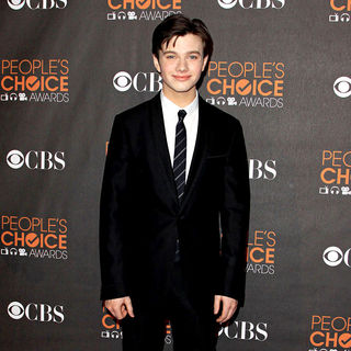 Chris Colfer in People's Choice Awards 2010