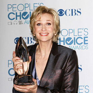 Jane Lynch in 2011 People's Choice Awards - Press Room