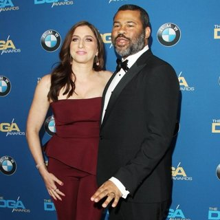 Chelsea Peretti, Jordan Peele in 70th Annual Directors Guild of America Awards - Arrivals